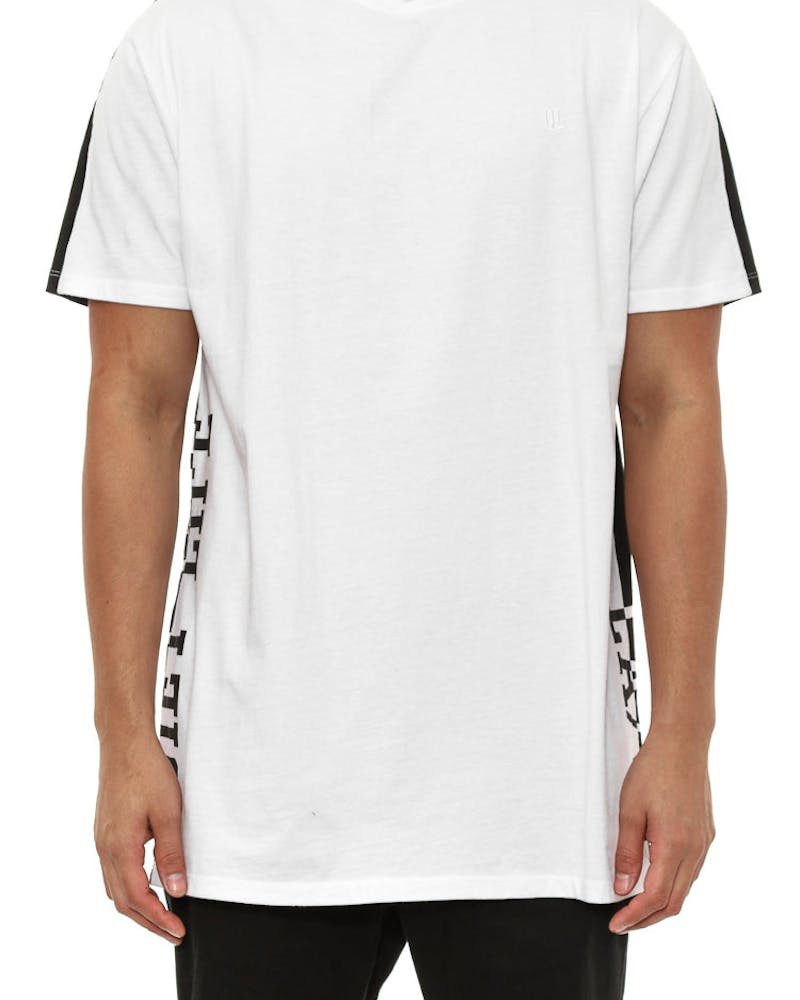 Two Faced Tee Black/white