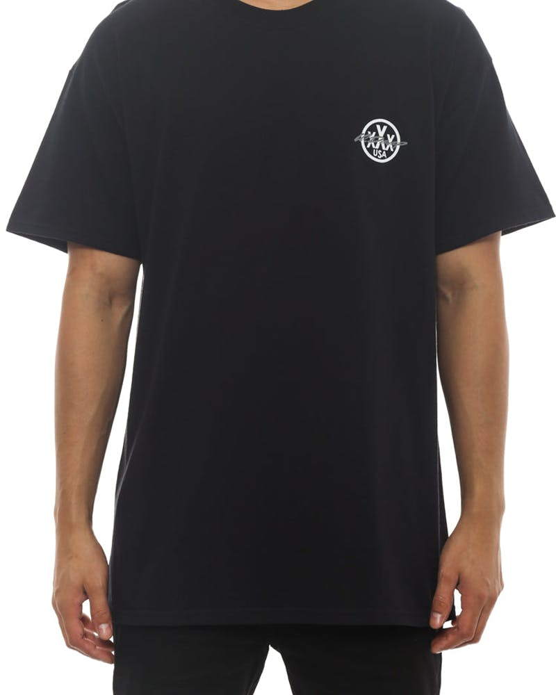 Riding With Death Tee Black