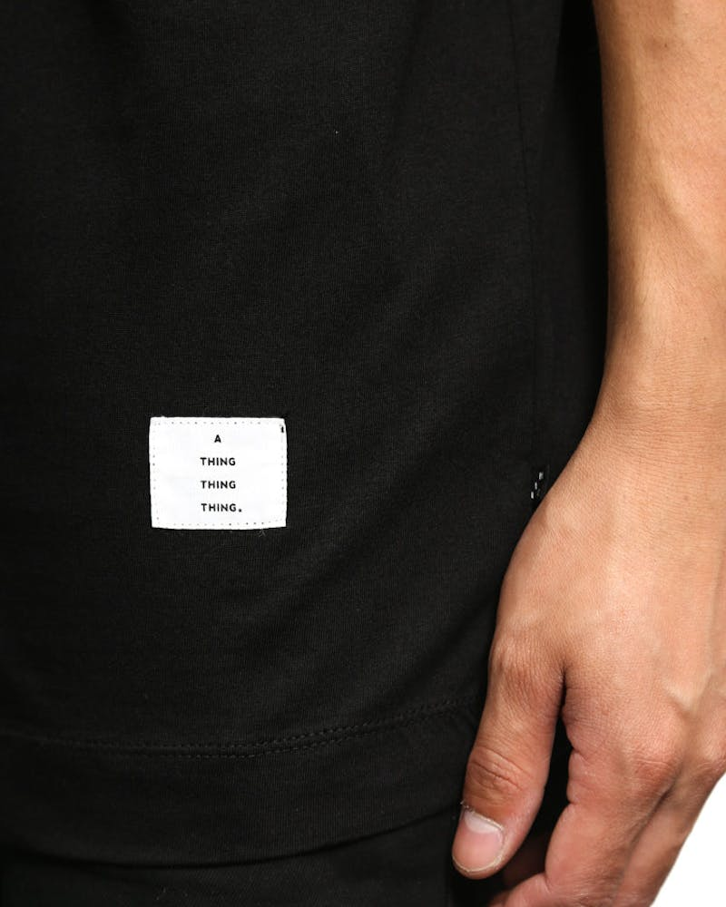 Re-up Tee Icon 3D Black