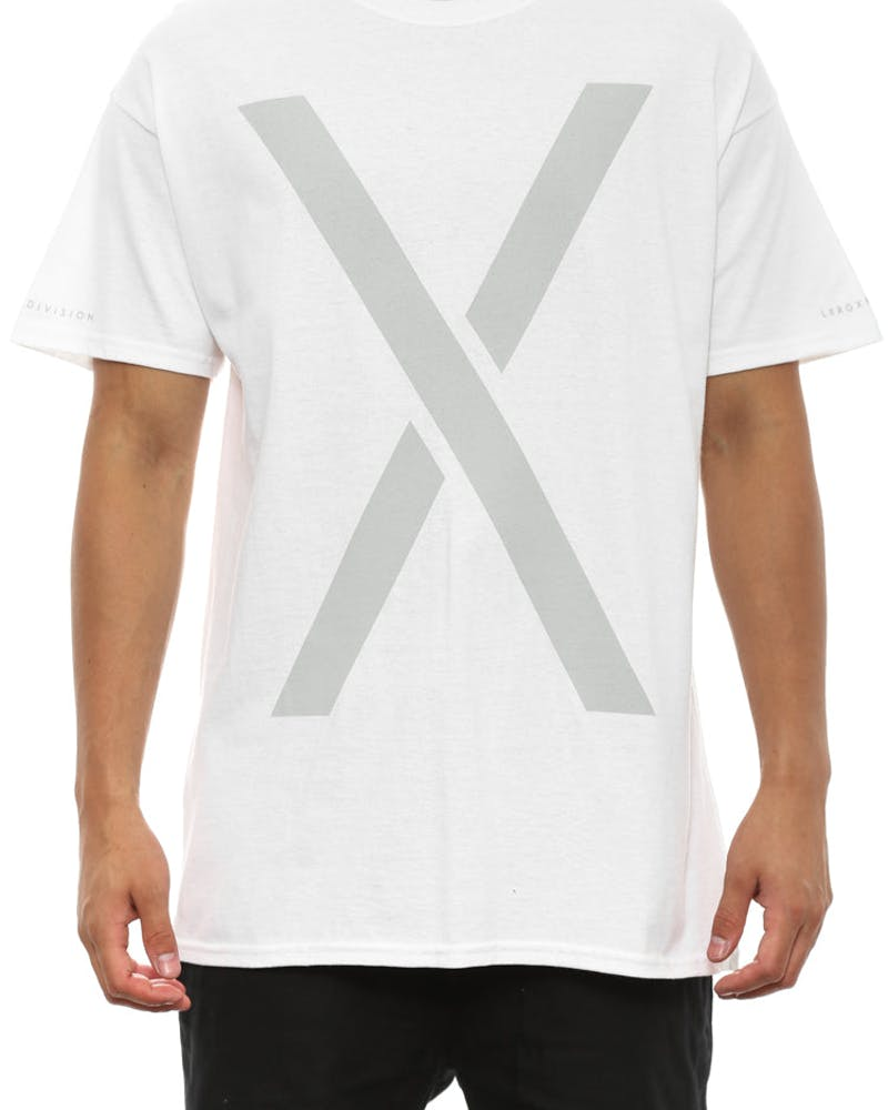 Larger Living Tee White