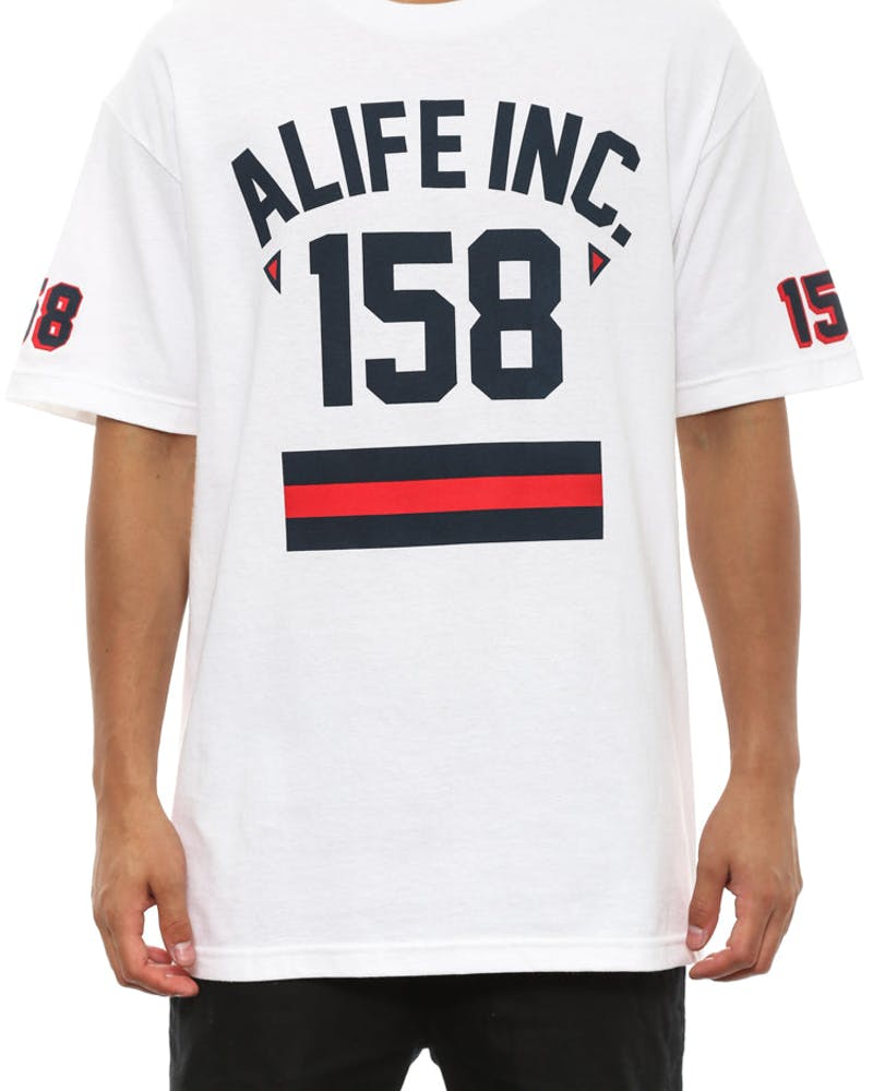 158 Alife Athletic Tee White