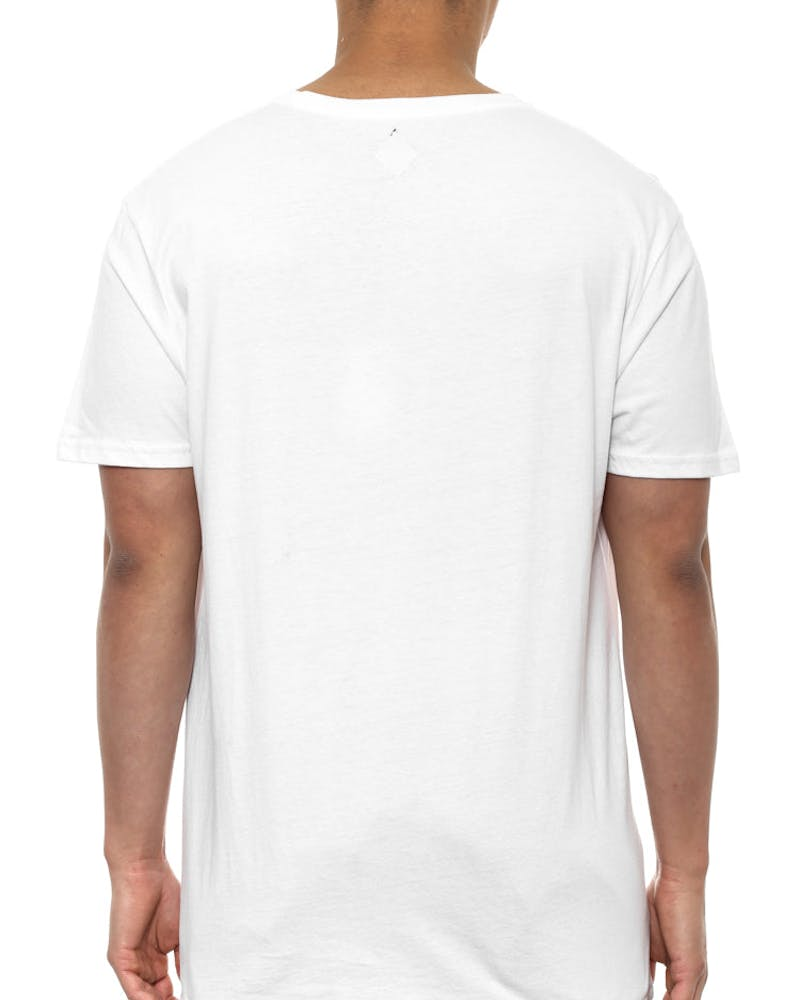 Block Out Tee White