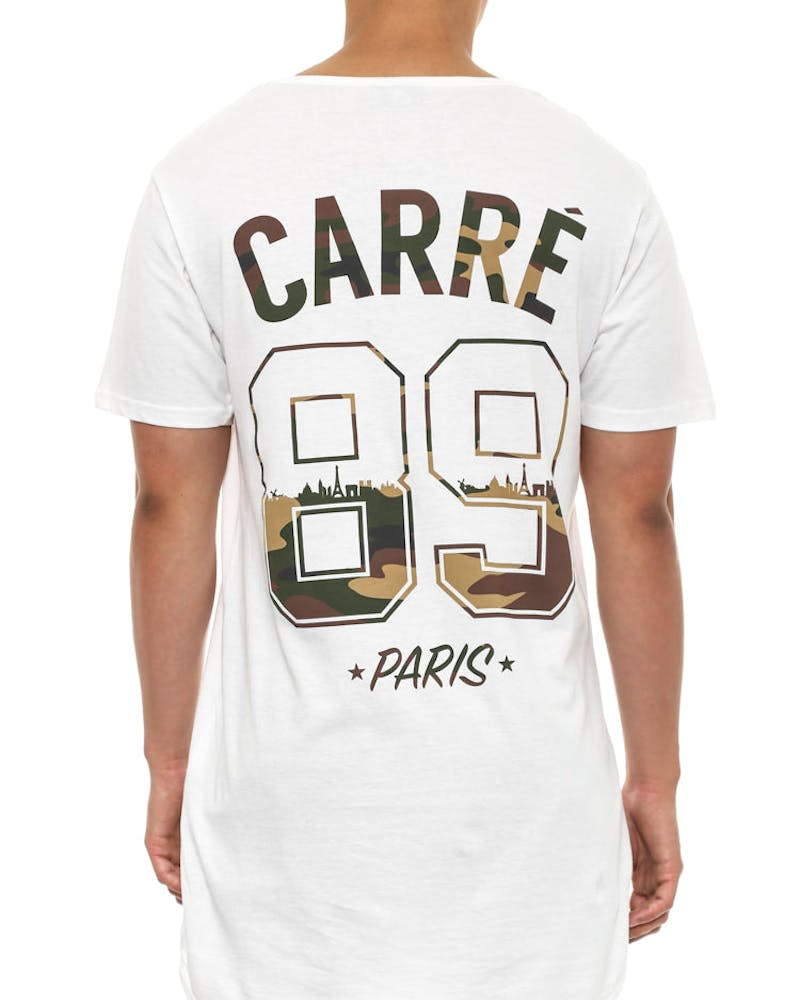 Paname Camo Droptail White