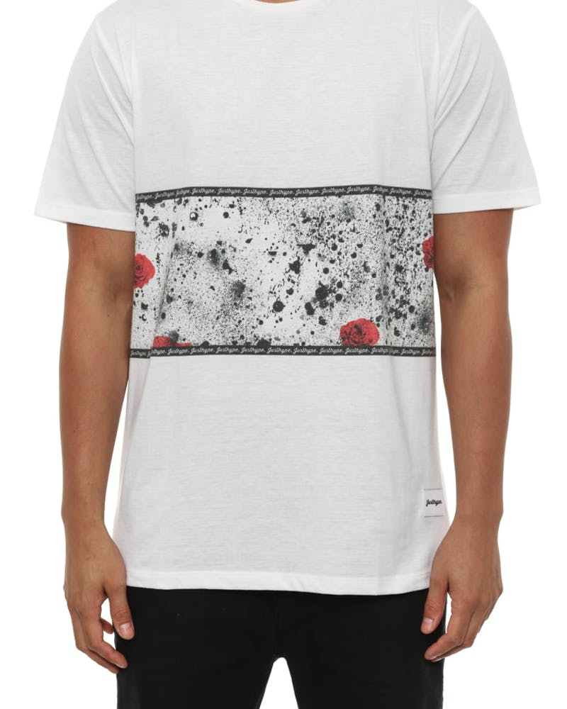 Rose Splat Panel Tee Multi-coloured