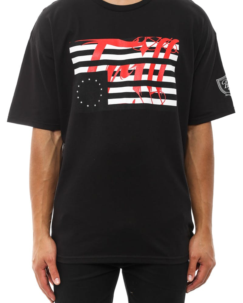 Trill Flag Tee Black
