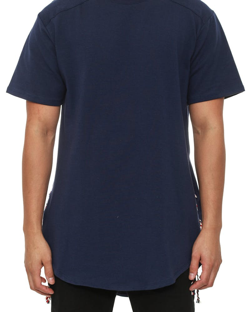 the Rope Tee Navy