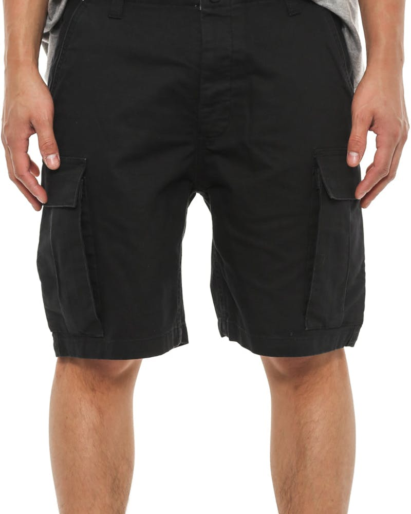 Recon Cargo Short Black