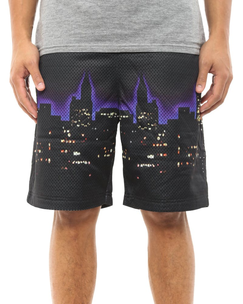 Nightline Mesh Short Black
