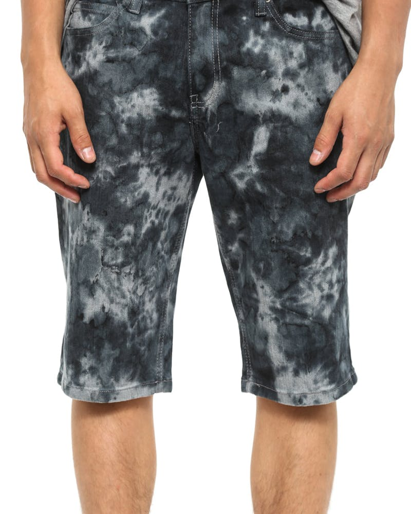 Slim Fit Short Tie Dye