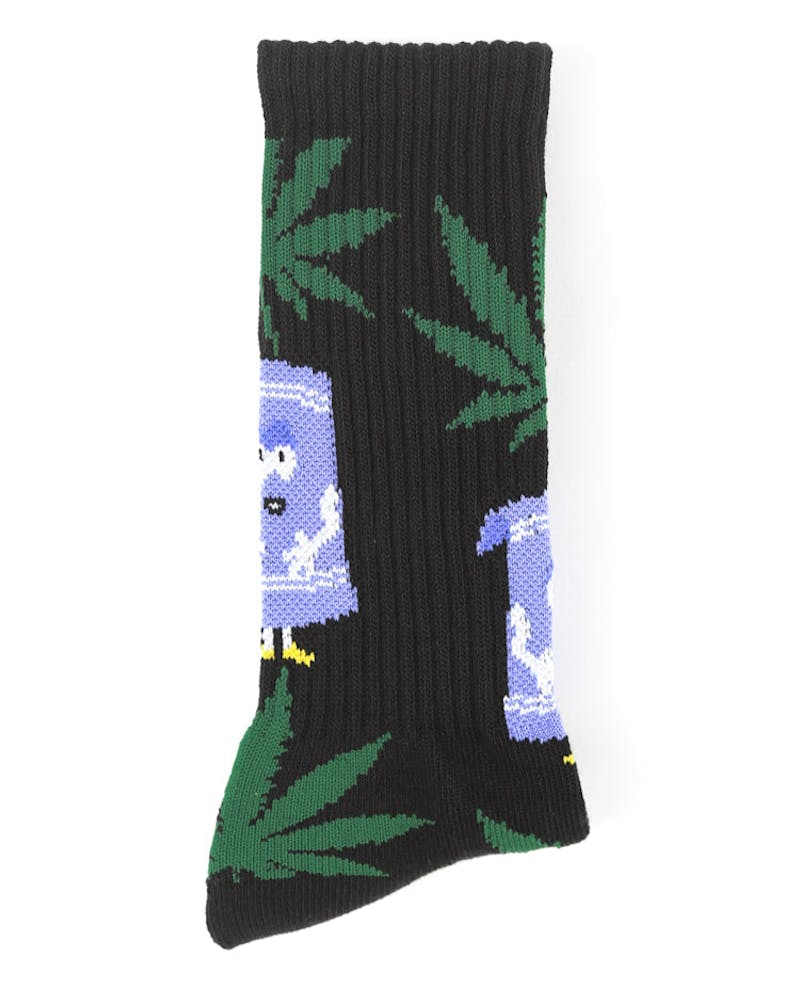 South Park Plantlife Sock Black