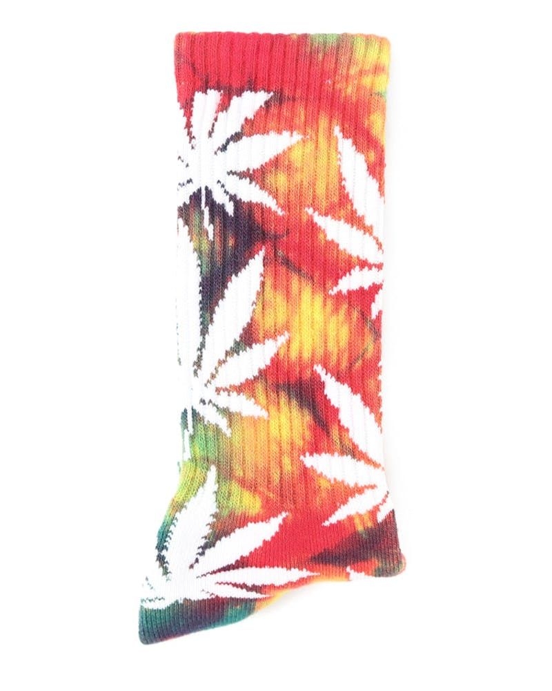 Tie Dye Plantlife Sock Multi-coloured