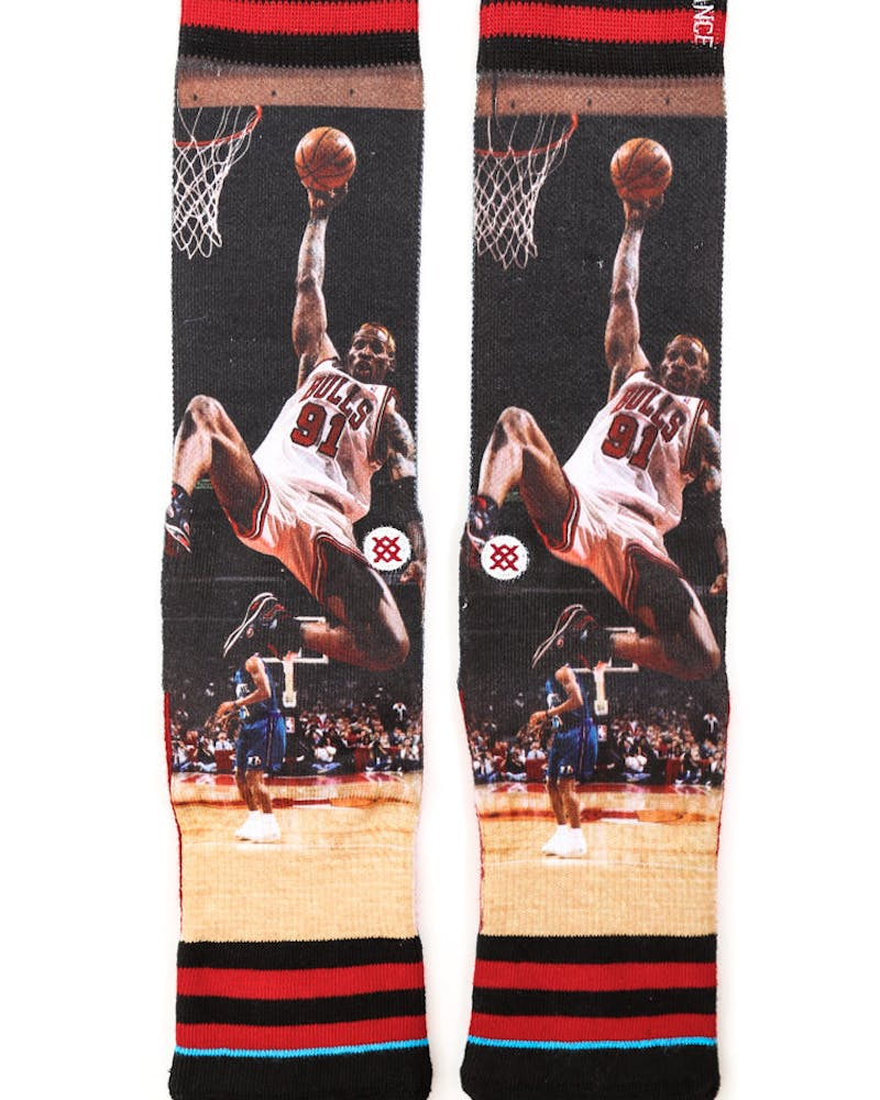 Sublimated NBA Legends SK Black/red