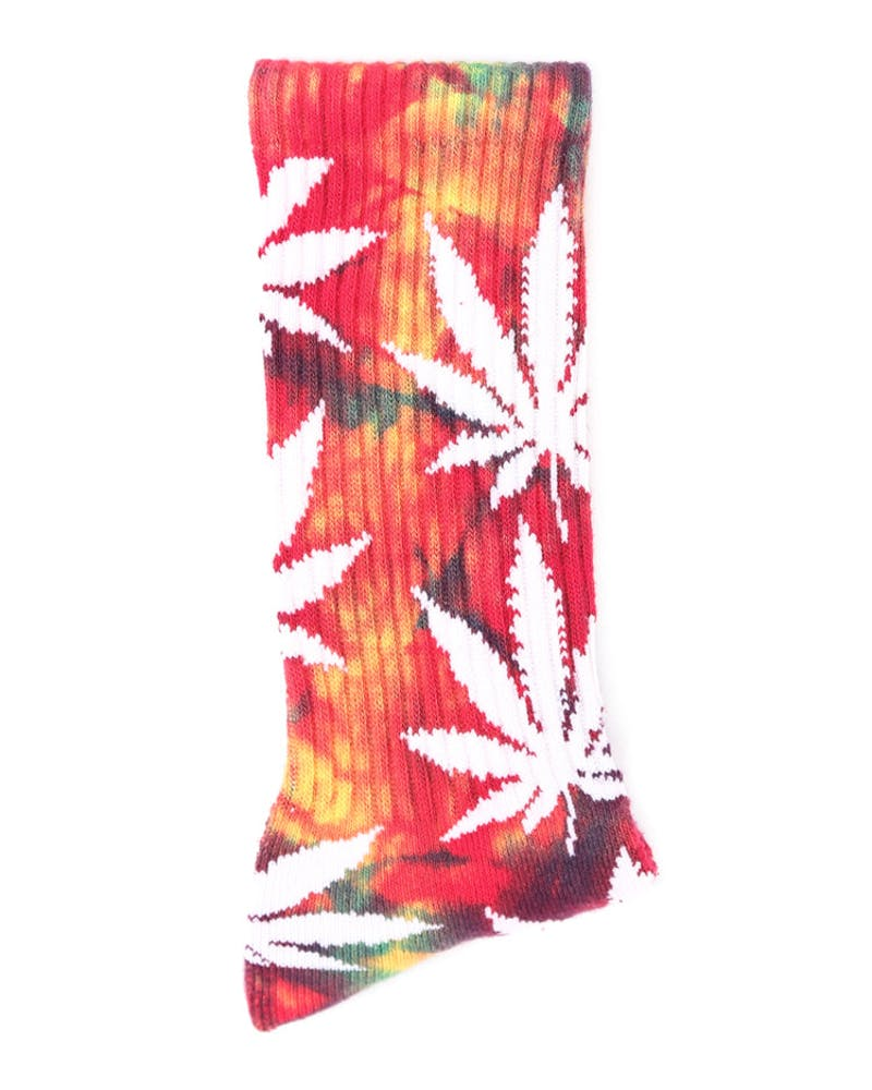 Tie Dye Plantlife Sock Multi-coloured/