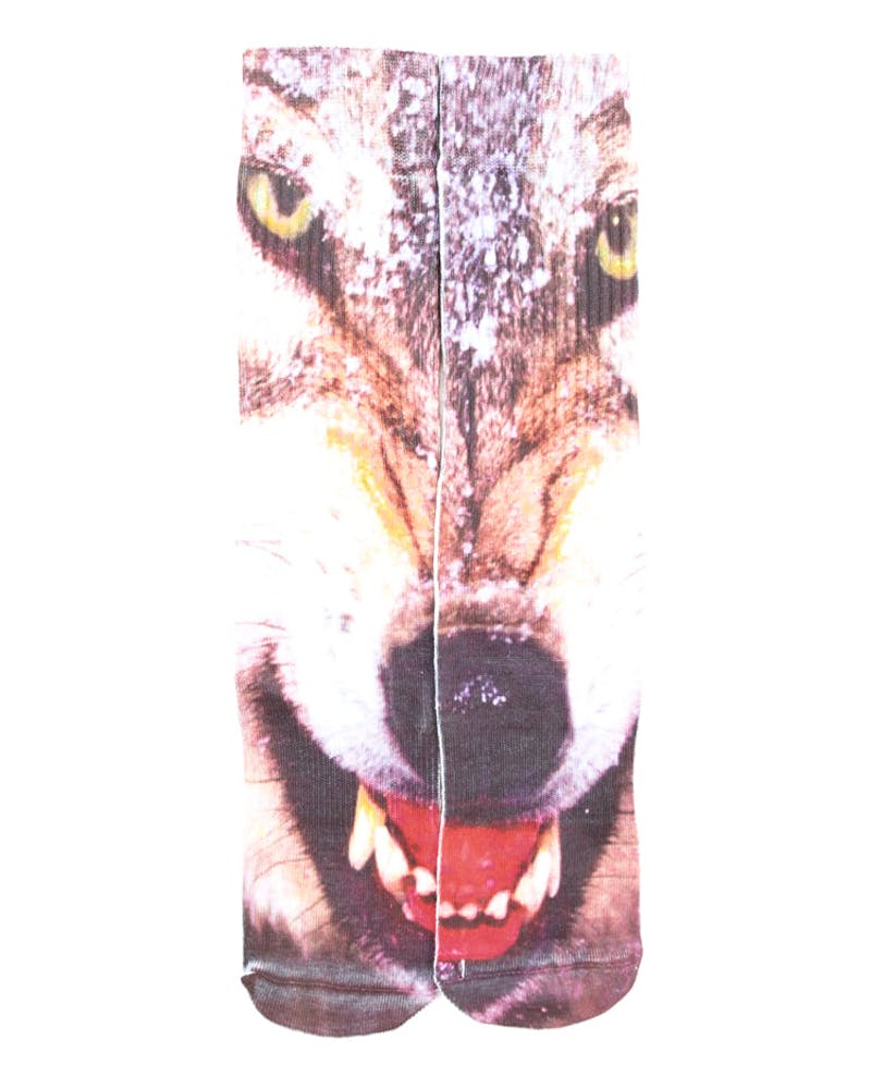 Wolf Sock Red