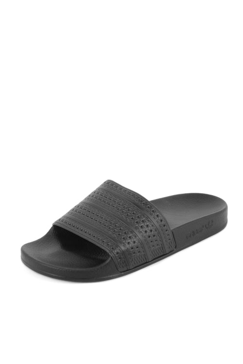 adidas originals adilette sliders in black