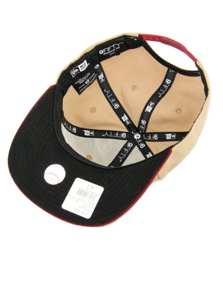 Yankees Original Fit Snapback Camel