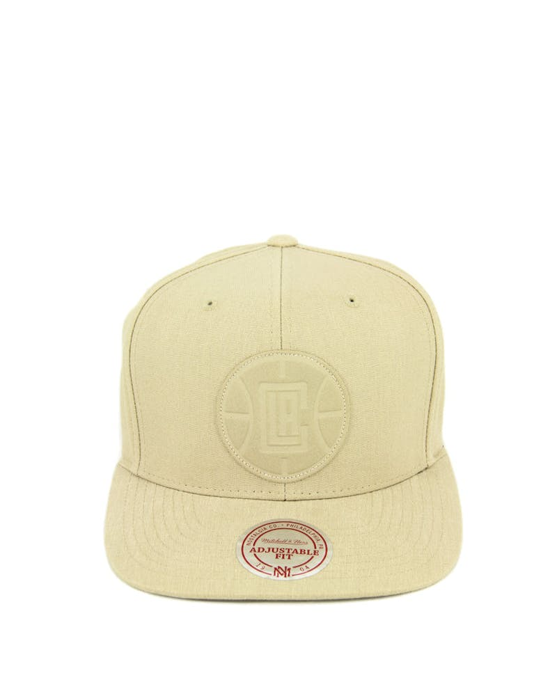 Clippers Hot Stamp Snapback Stone