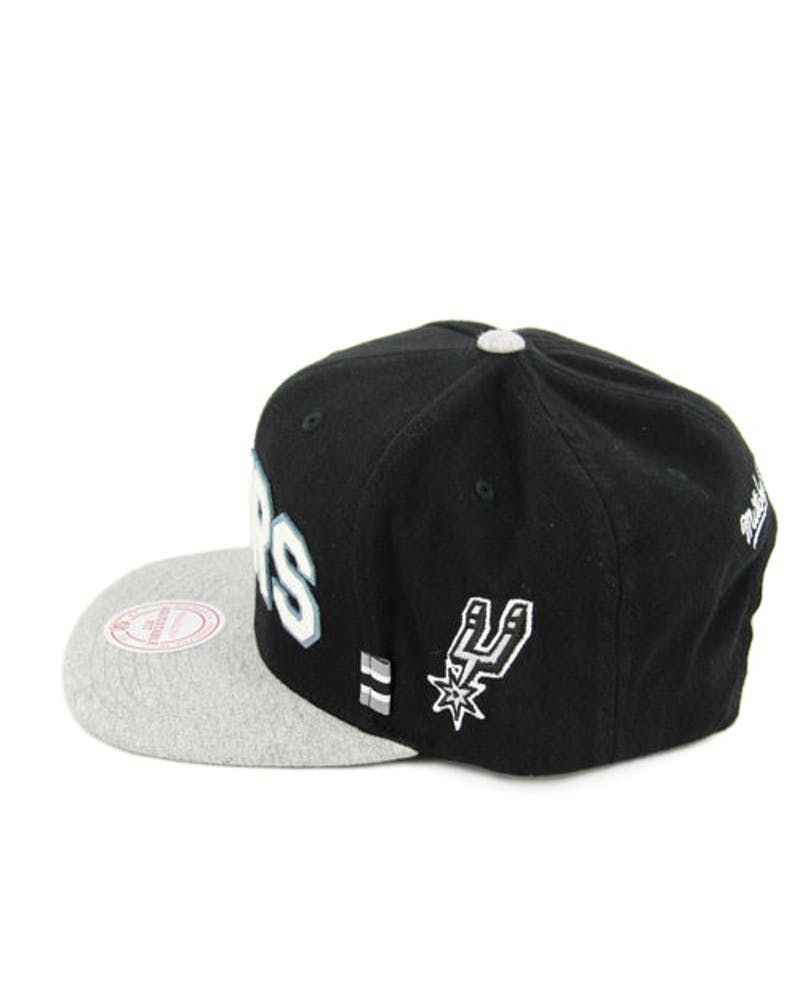 Spurs Training Room Snapback Black/grey
