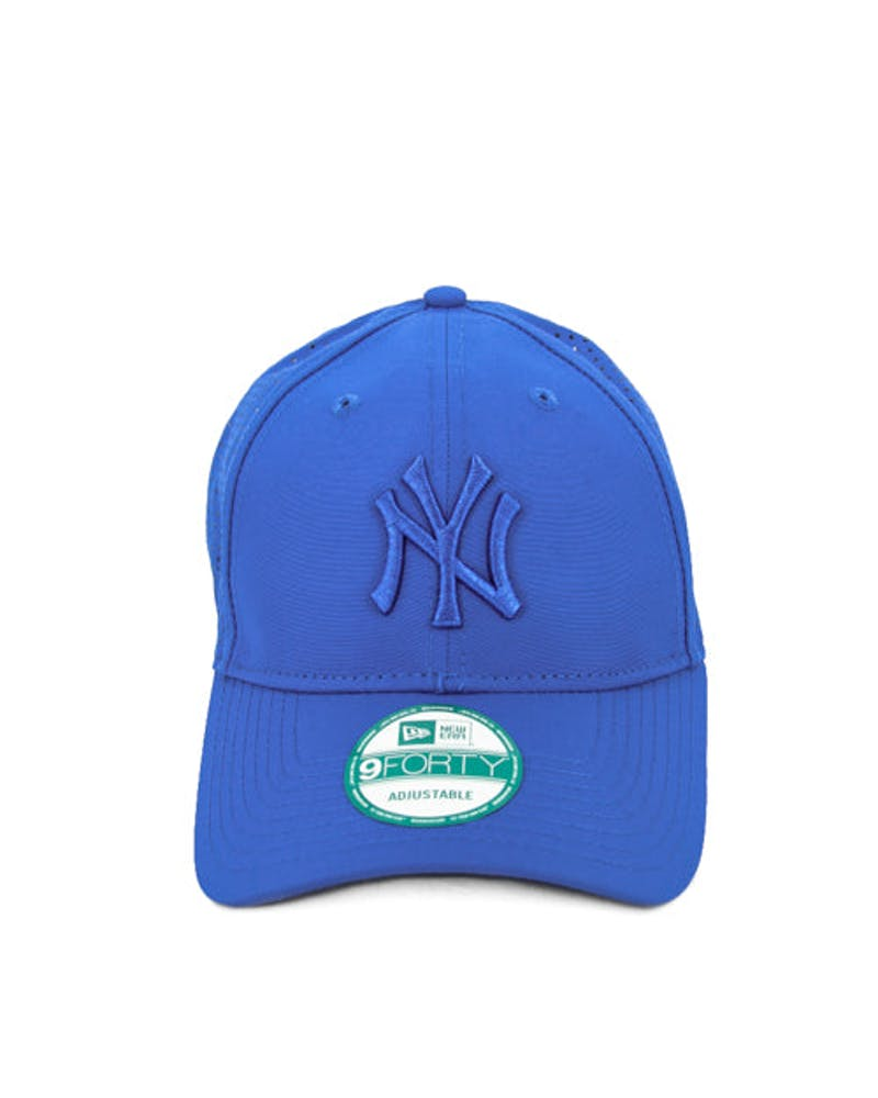 New Era Yankees Tonal Perf 9FORTY ST Blue