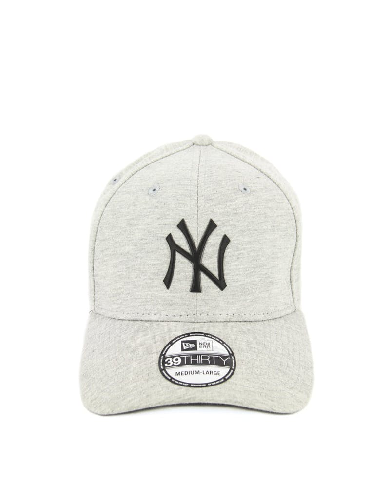 Yankees Jersey Logo 3930 Fashion Fitted Grey/black
