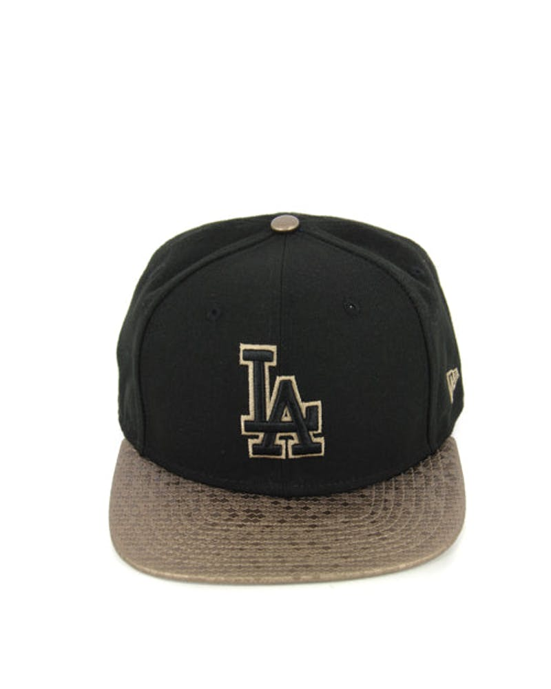 Dodgers Tile Vize Orig.fit Snapback Black/gold