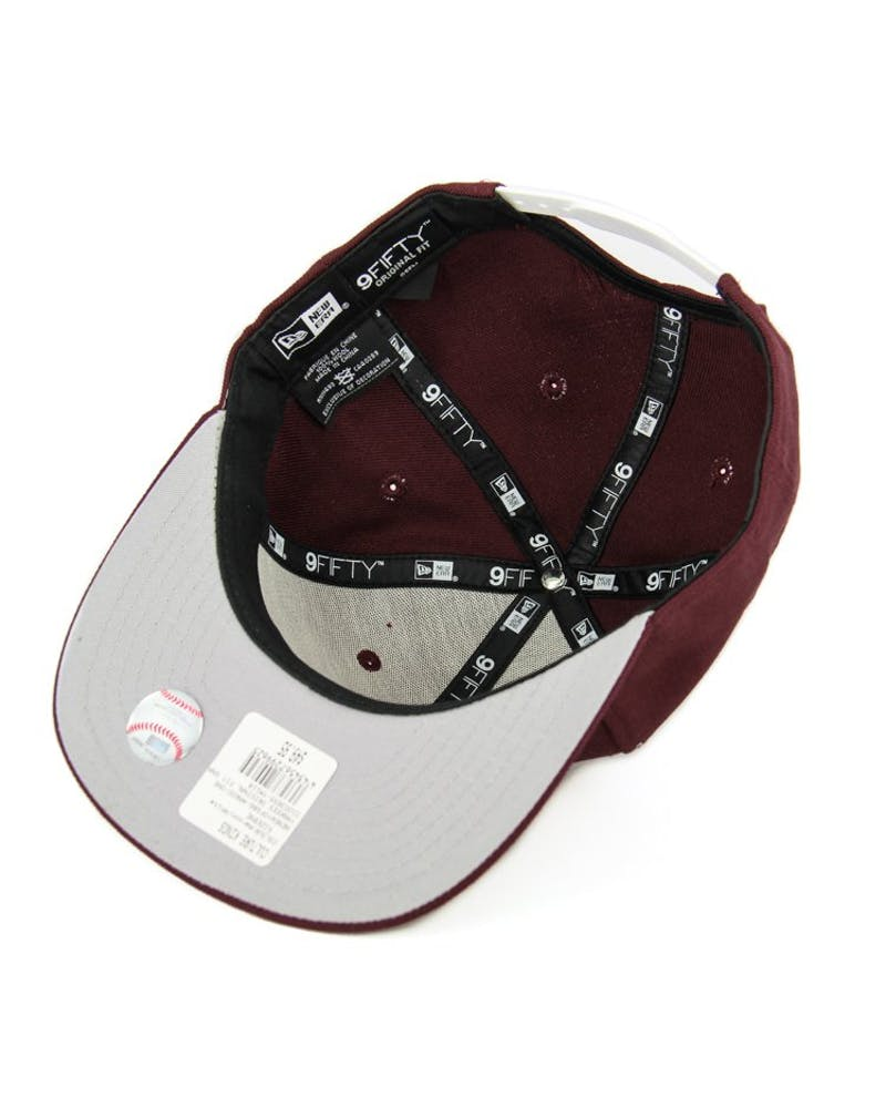Yankees Original Fit Snapback Maroon/white