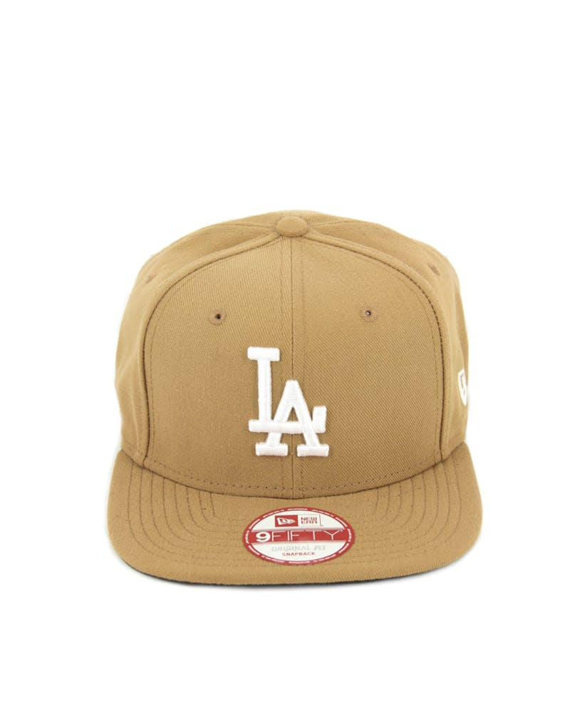 Dodgers Original Fit Snapback Wheat/white