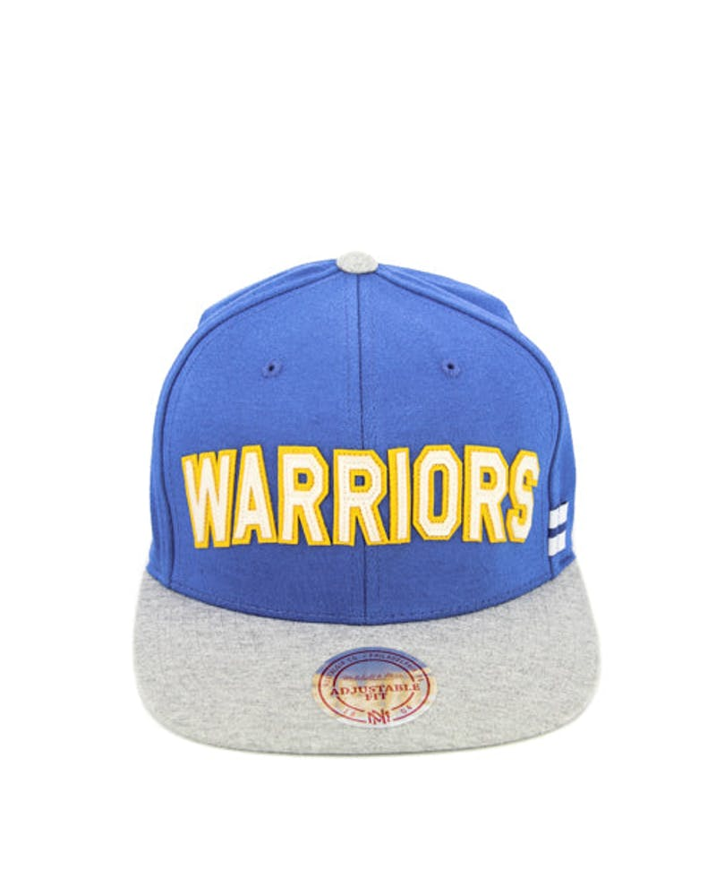 Warriors Training Room Snapback Blue/grey