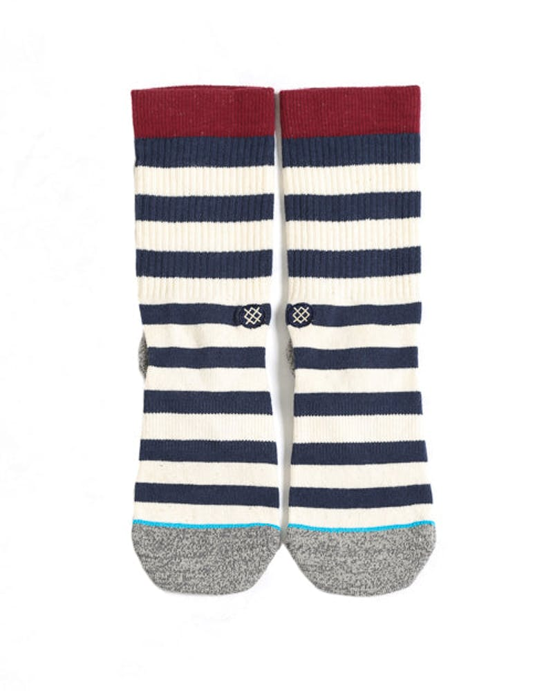 Merica Stripe Sock Navy/white
