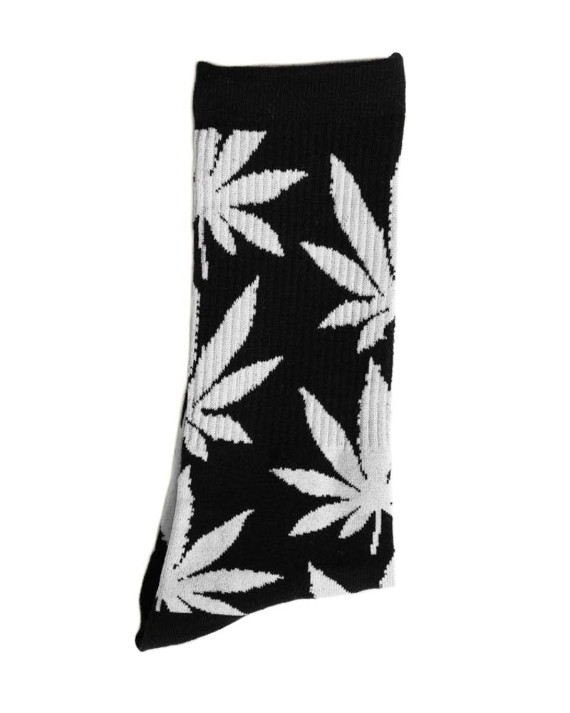 Plantlife Lite Crew Sock Black/white