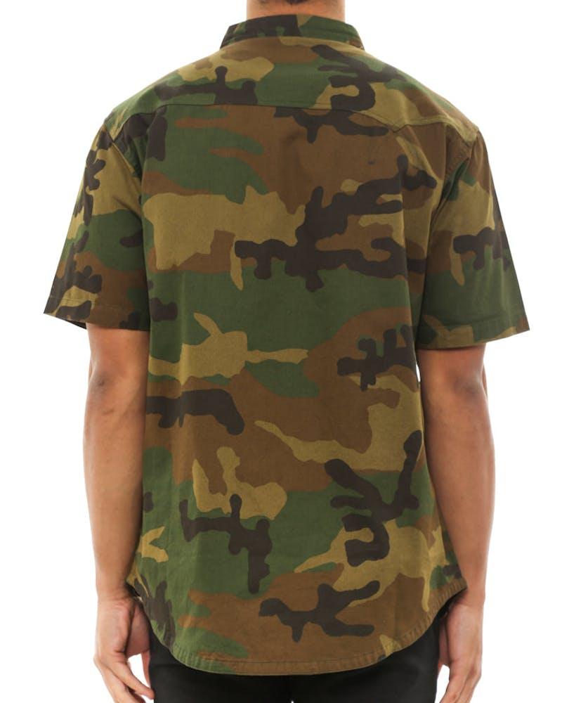 Striders Button Up Camo