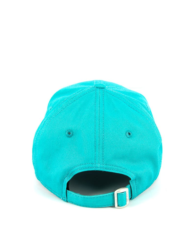 New Era Women's Yankees 9FORTY Strapback Teal/white