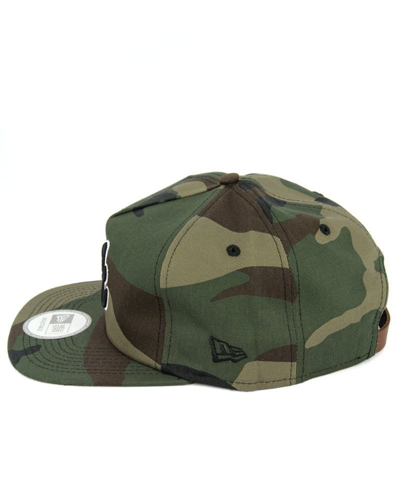 Braves Old Golfer Strapback Camo/black