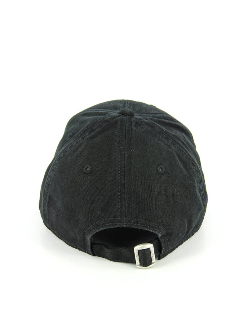 New Era Yankees Washed 9FORTY Strapback Black/black
