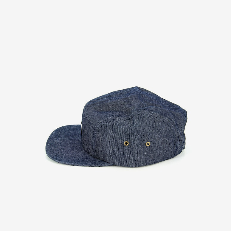 Hendrick Five Panel Cap Denim