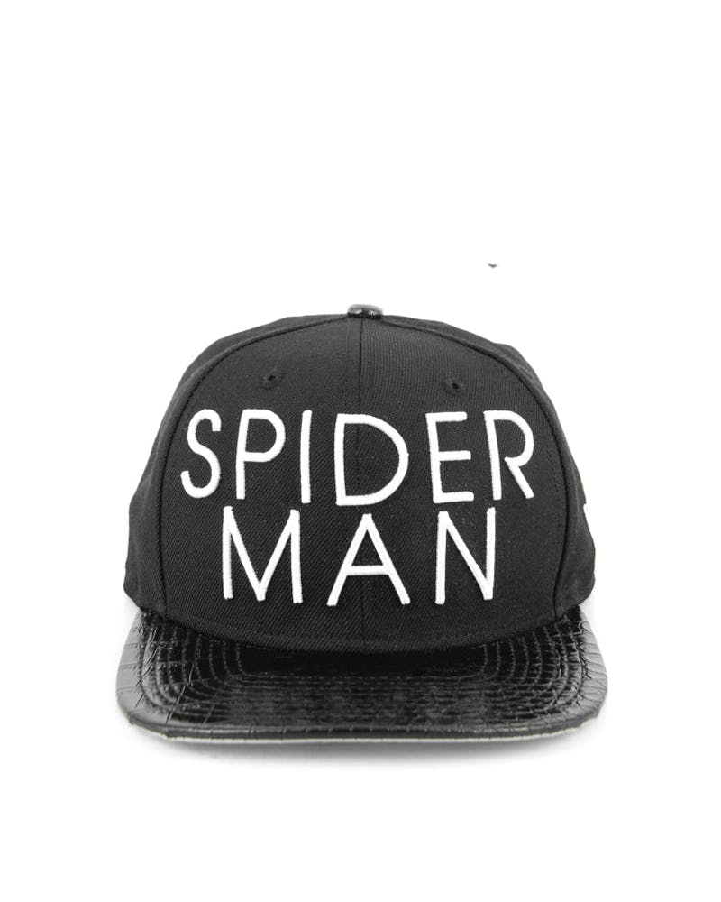 Spiderman Strapback Black