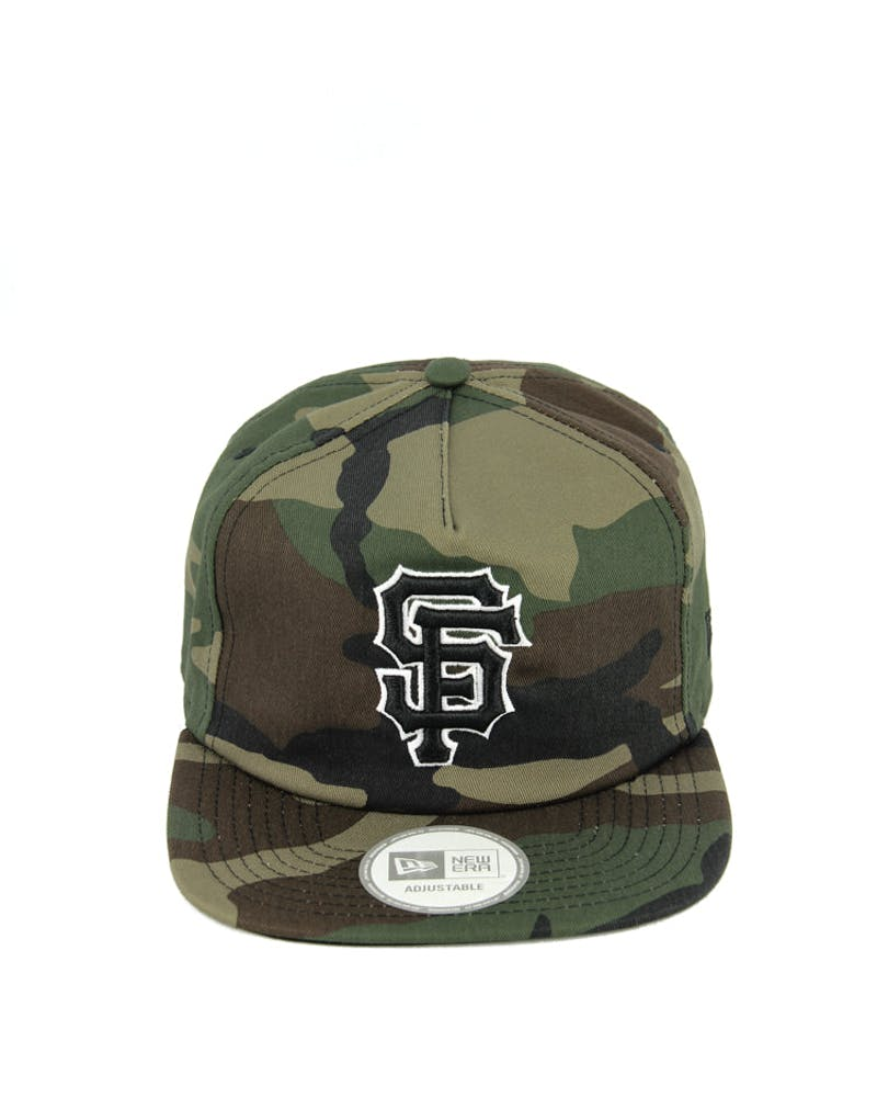 Giants Old Golfer Strap Back Camo/black