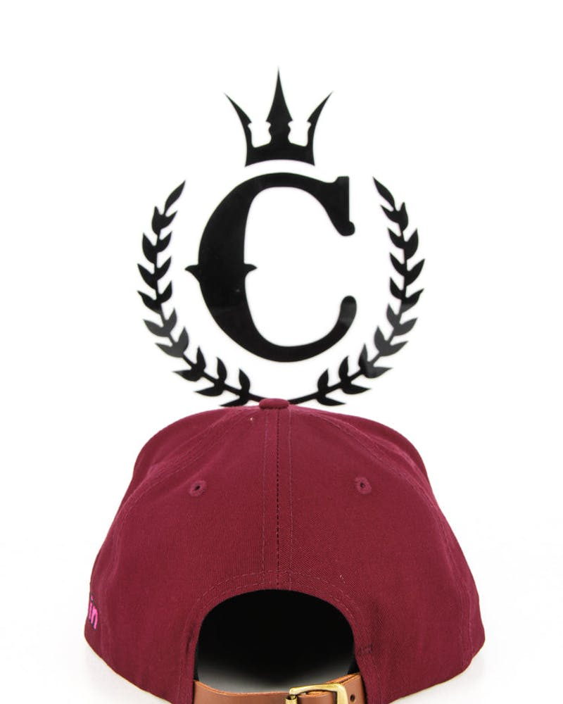 Waves Logo Holiday 13 Str Maroon