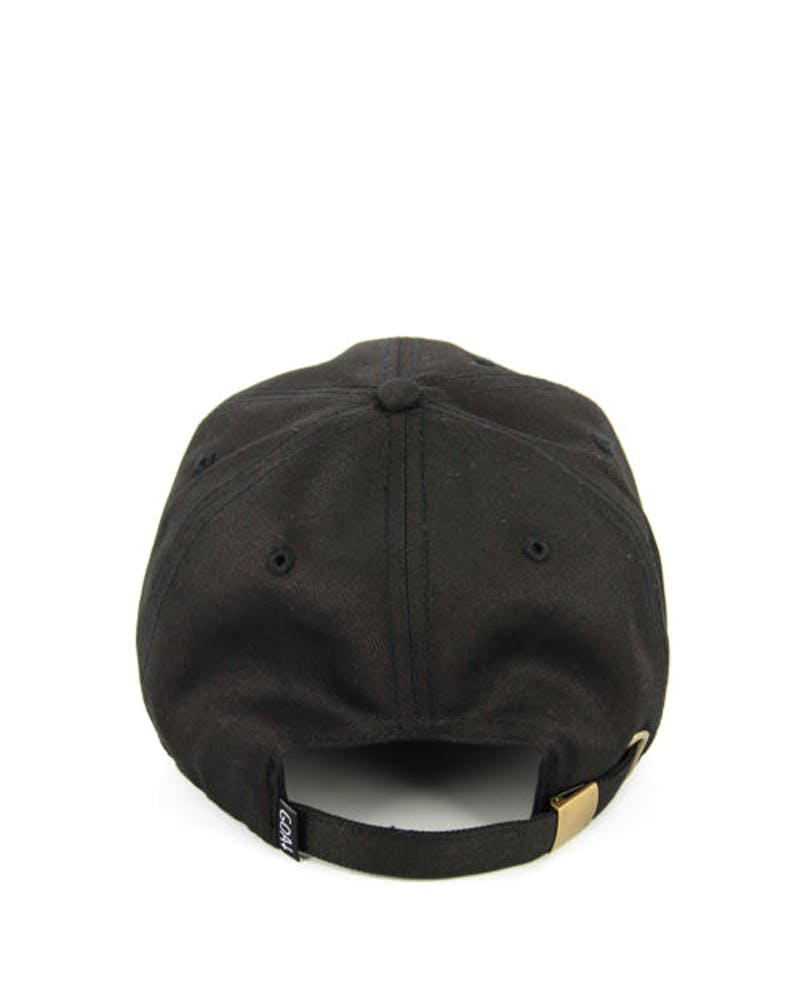 Views Precurved Strapback Black