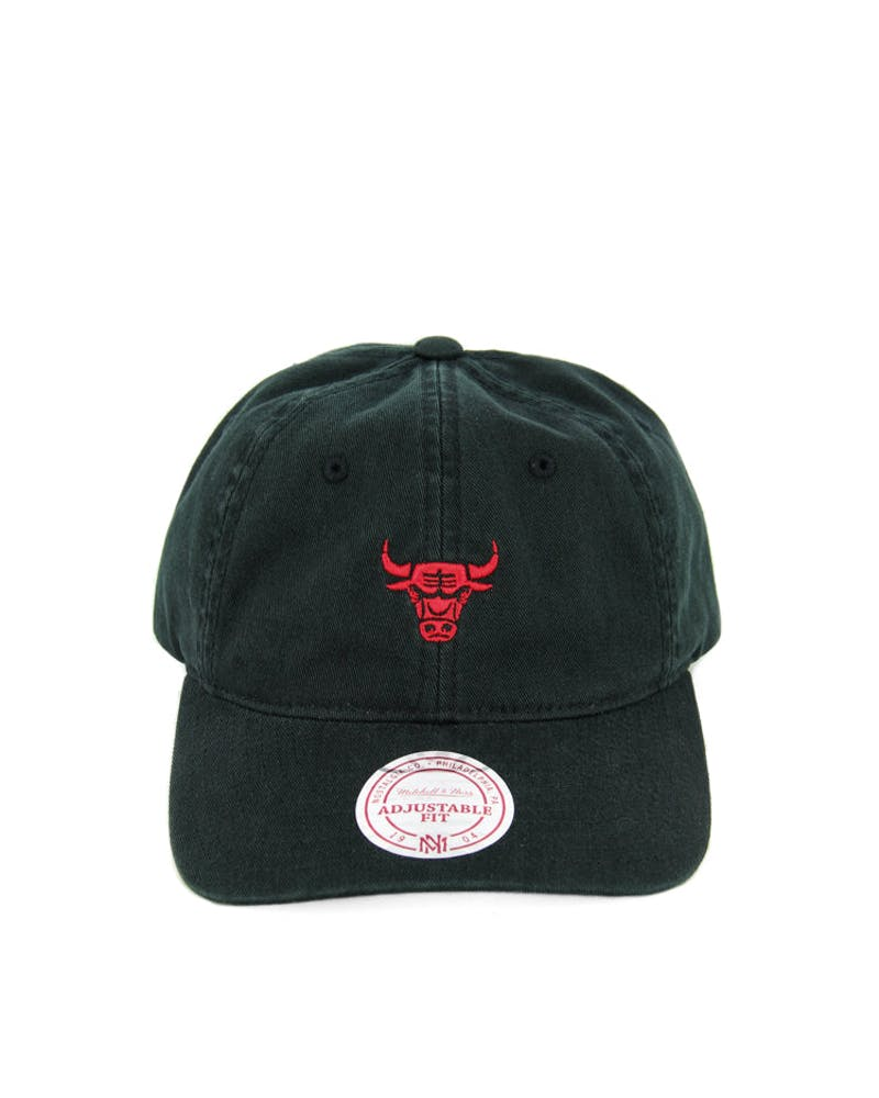 Bulls Chukker Strapback Black/red