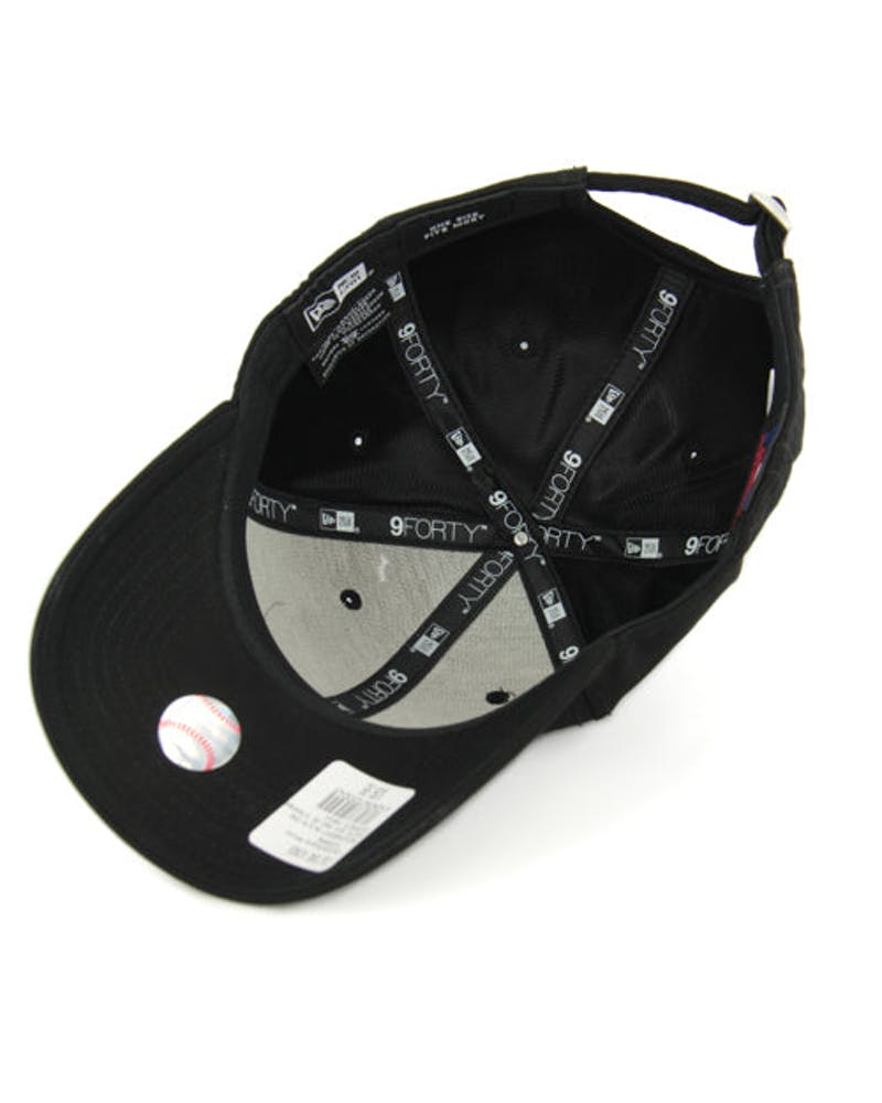 New Era Yankees 9FORTY Sports Poly ST Black/white