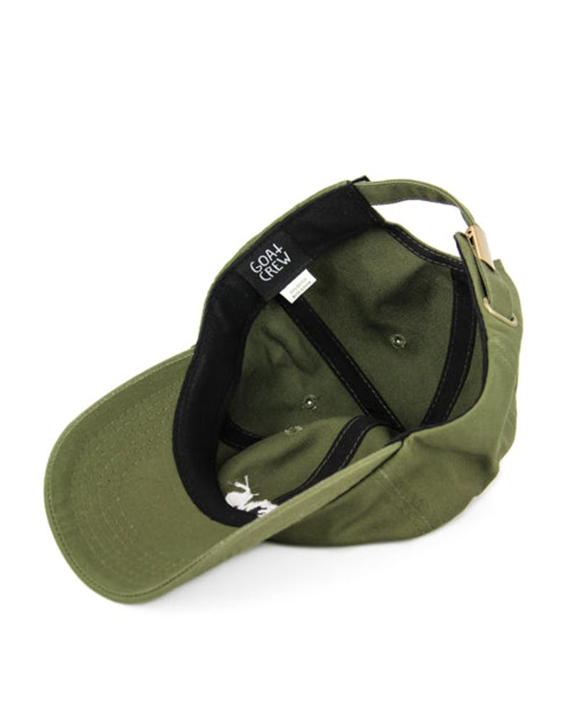 Views Precurved Strapback Olive