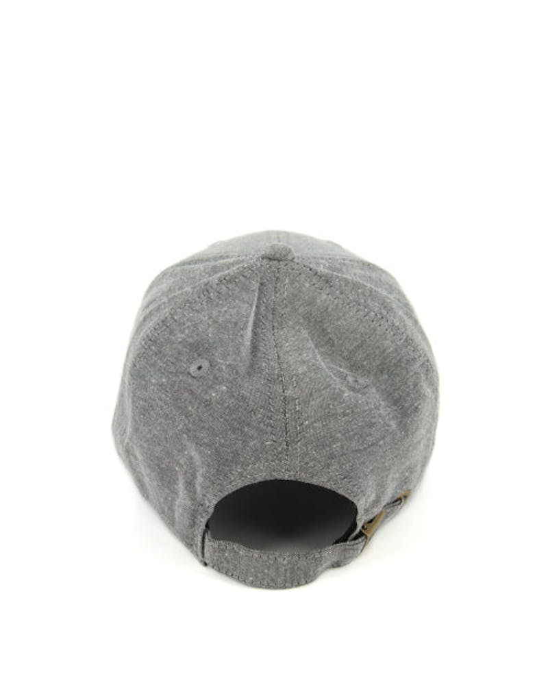 New Era Yankees 9FORTY Chambray ST Grey/black