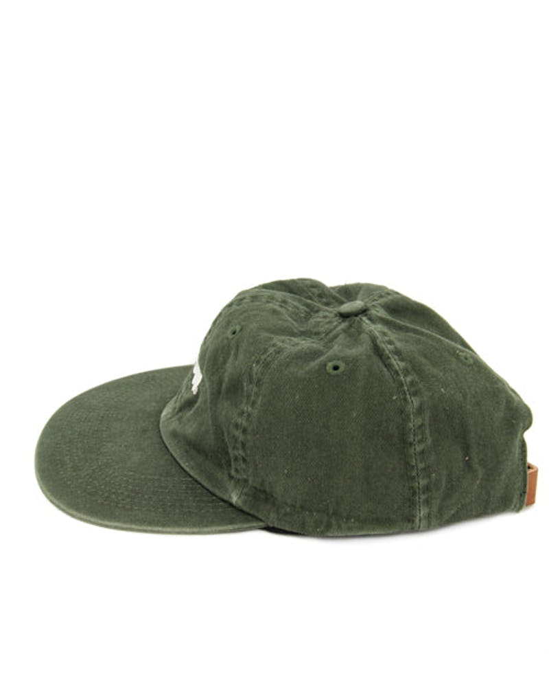 Micah Low Strapback Green