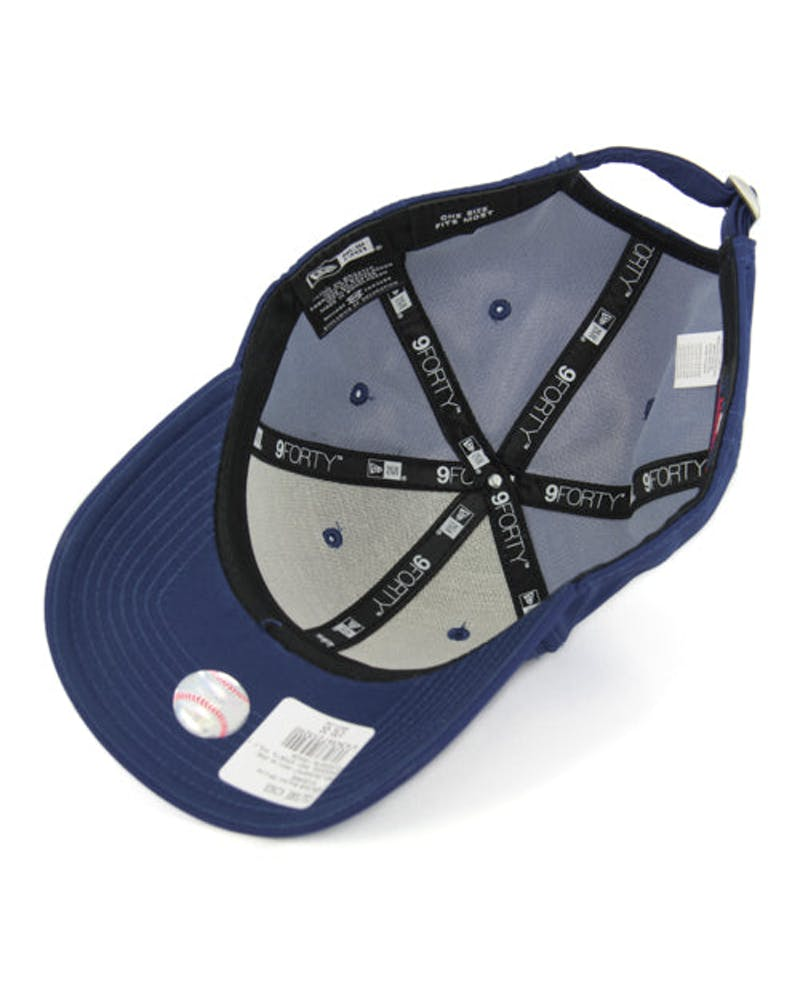 New Era Yankees 9FORTY Sports Poly ST Royal/white