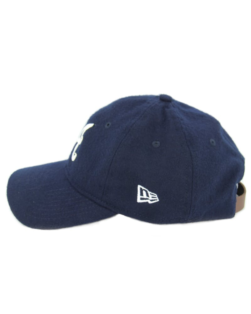 Braves Wool Stitch Strapback Navy/white