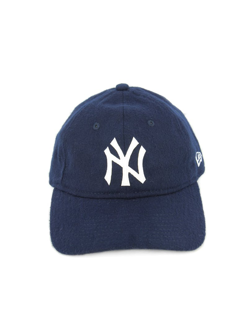 Yankees Wool Stitch Strapback Navy/white
