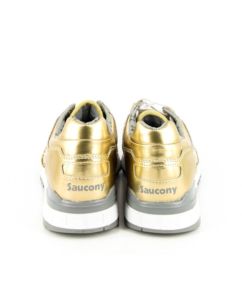 PC X Saucony Shadow Shoe Gold