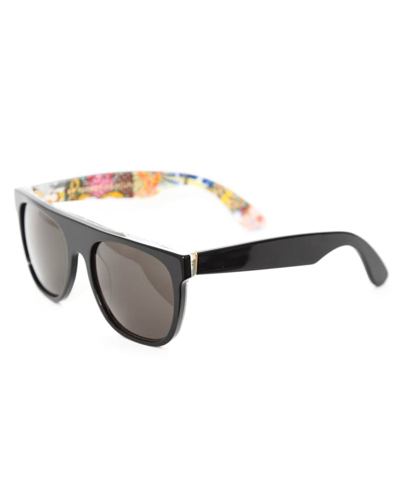 Flat Top Lost Sunglasses Black