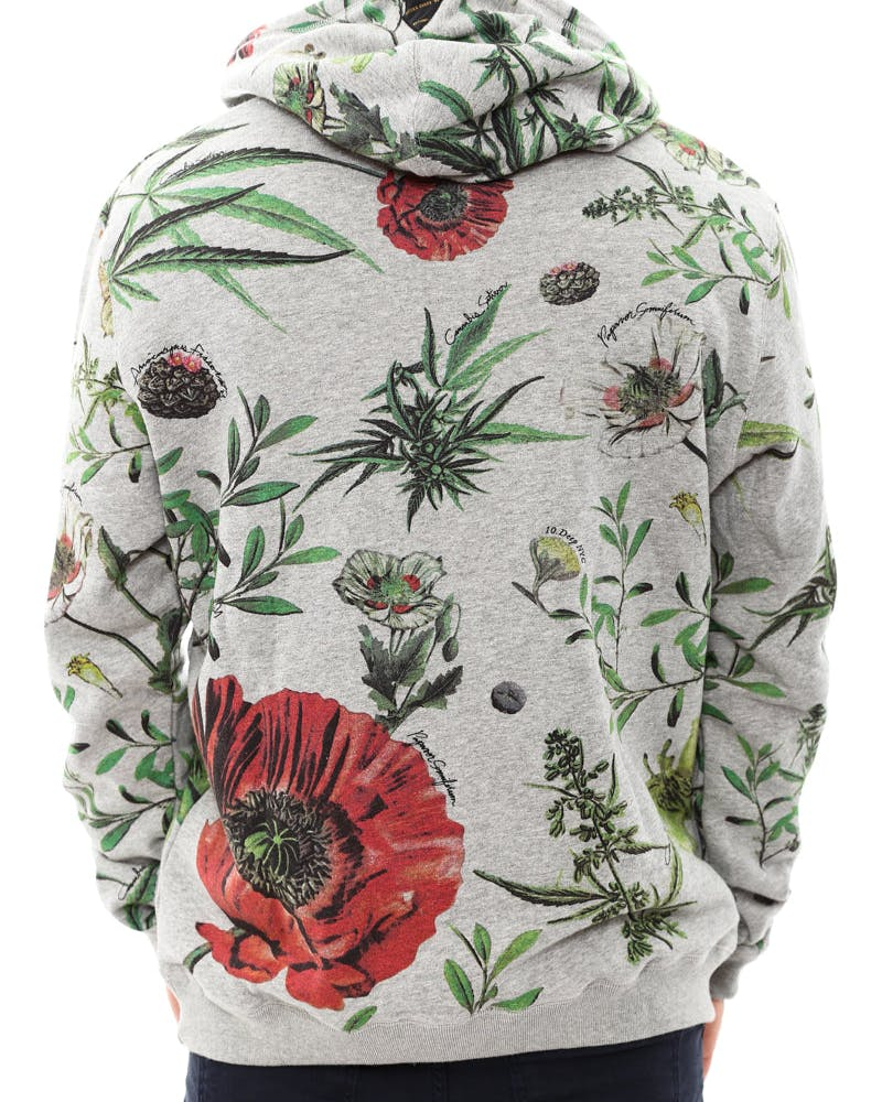 Bacchanal Hoody Heather Grey/re